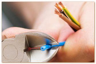 Устранение повреждений в электропроводке