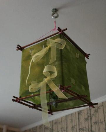 Японские фонарик из бумаги своими руками