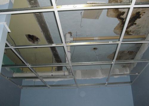 Выравнивание потолка гипсокартоном своими руками фото